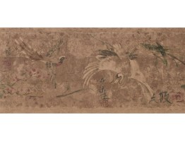 9 in x 15 ft Prepasted Wallpaper Borders - Birds Wall Paper Border FR4952B