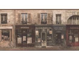 Café Wallpaper Border FR5062B