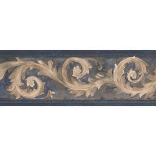 7 in x 15 ft Prepasted Wallpaper Borders - Vintage Wall Paper Border FT75823N