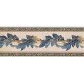 New  Arrivals Wall Borders: Leaves Wallpaper Border FX73815N