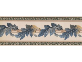 Prepasted Wallpaper Borders - Leaves Wall Paper Border FX73815N