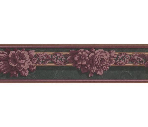 New  Arrivals Wall Borders: Floral Wallpaper Border GG101842B