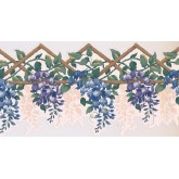 New  Arrivals Wall Borders: Floral Wallpaper Border GS254B