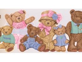 Teddy Bear Wallpaper Border GS3117B