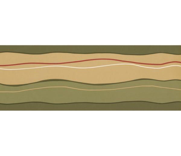 New  Arrivals Wall Borders: Lines Wallpaper Border GU79228