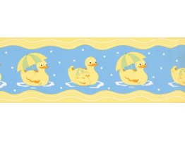 Ducks Wallpaper Border GU79254
