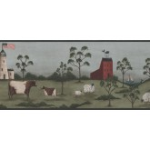 New  Arrivals Wall Borders: Lighthouse Wallpaper Border HF8513B