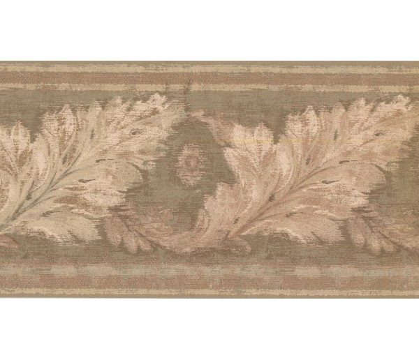 New  Arrivals Wall Borders: Leaves Wallpaper Border HG9165B