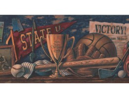 Sports Wallpaper Border HG9245B