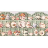 New  Arrivals Wall Borders: Kitchen Wallpaper Border HH90224B