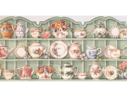 Kitchen Wallpaper Border HH90224B