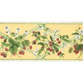 New  Arrivals Wall Borders: Fruits Wallpaper Border HS7878B