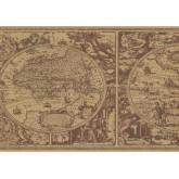 New  Arrivals Wall Borders: Globe Wallpaper Border HU6085B