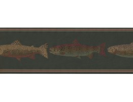Fishes Wallpaper Border HU6252B