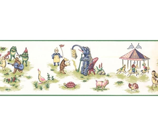 New  Arrivals Wall Borders: Jungle Animals Wallpaper Border ID5526B