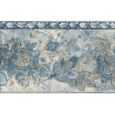 New  Arrivals Wall Borders: Leaves Wallpaper Border IL42019B