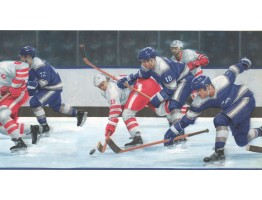 10 in x 15 ft Prepasted Wallpaper Borders - Sports Wall Paper Border IR2736B