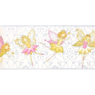 9 in x 15 ft Prepasted Wallpaper Borders - Kids Wall Paper Border JE3548B