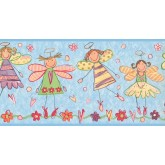 New  Arrivals Wall Borders: Kids Wallpaper Border JL1023B