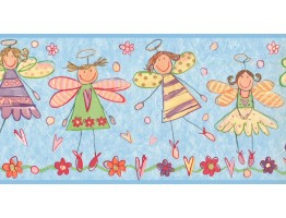 Prepasted Wallpaper Borders - Kids Wall Paper Border JL1023B
