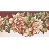 New  Arrivals Wall Borders: Floral Wallpaper Border JT7454B