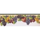 New  Arrivals Wall Borders: Fruits Wallpaper Border KB73480DC