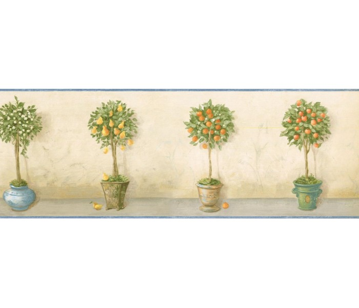 New  Arrivals Wall Borders: Garden Wallpaper Border KC78047