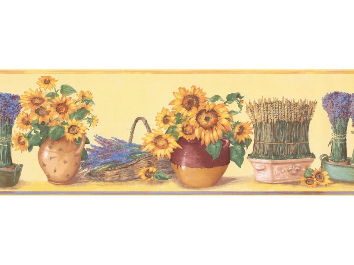 Kitchen Wallpaper Border Kc78061