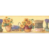 New  Arrivals Wall Borders: Kitchen Wallpaper Border KC78061