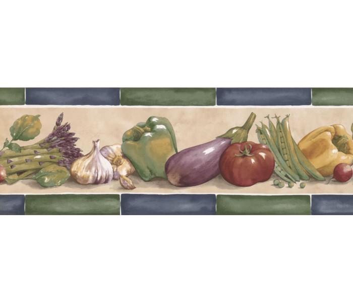 New  Arrivals Wall Borders: Kitchen Wallpaper Border KF76662