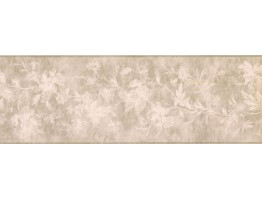 Prepasted Wallpaper Borders - Floral Wall Paper Border KH5897B