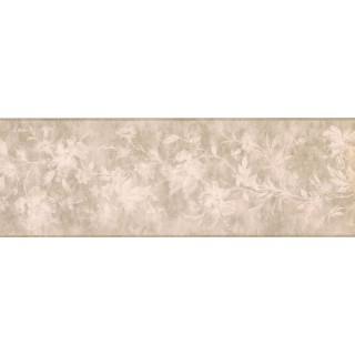7 in x 15 ft Prepasted Wallpaper Borders - Floral Wall Paper Border KH5897B