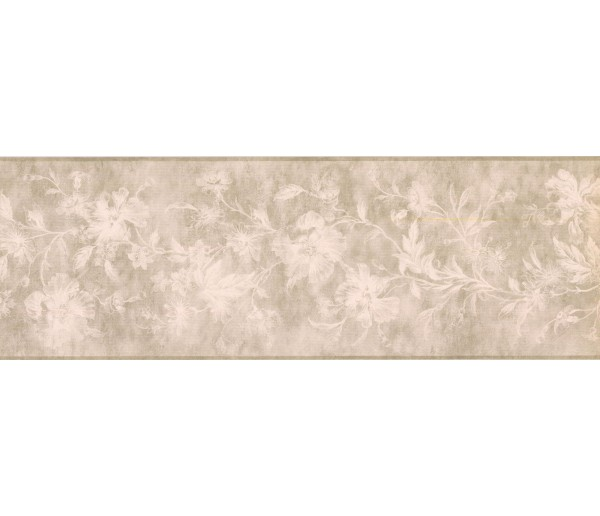 New  Arrivals Wall Borders: Floral Wallpaper Border KH5897B