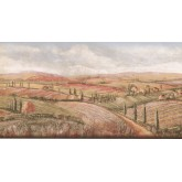 New  Arrivals Wall Borders: Country Wallpaper Border KM7805B