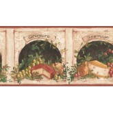 New  Arrivals Wall Borders: Kitchen Wallpaper Border KM7847B