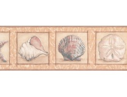 Conch Wallpaper Border KM7914B