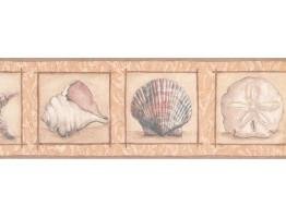 Conch Wallpaper Border KM7914B