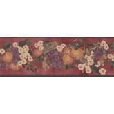 New  Arrivals Wall Borders: Fruits Wallpaper Border KR2259B
