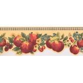 New  Arrivals Wall Borders: Fruits Wallpaper Border KR2282B