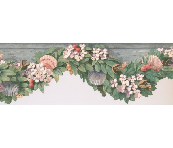 New  Arrivals Wall Borders: Fruits Wallpaper Border KR2505B