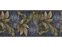 Leaves Wallpaper Border KS76887