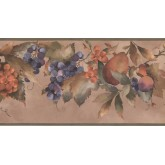 New  Arrivals Wall Borders: Fruits Wallpaper Border KT8354B