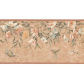 New  Arrivals Wall Borders: Floral Wallpaper Border KT8469B