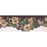 New  Arrivals Wall Borders: Floral Wallpaper Border KT8559B