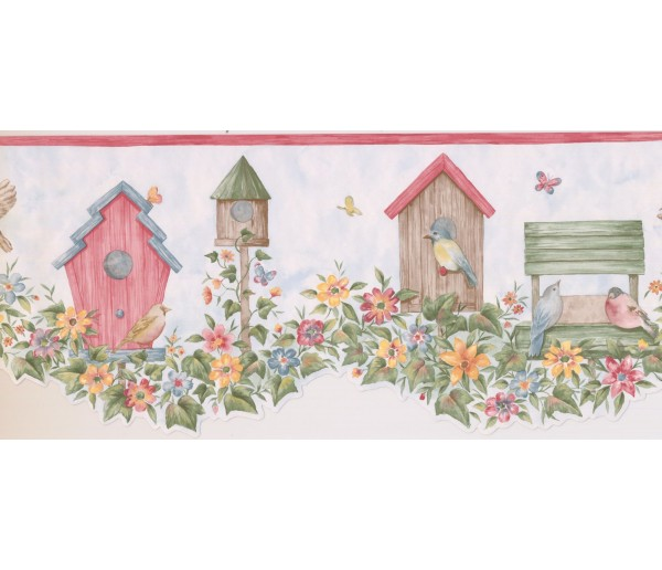 New  Arrivals Wall Borders: Birds Cage Wallpaper Border LA15013DB