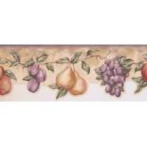 New  Arrivals Wall Borders: Fruits Wallpaper Border LA15015DB