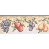New  Arrivals Wall Borders: Fruits Wallpaper Border LA15016DB