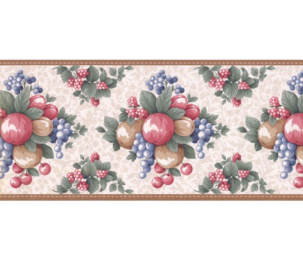 New  Arrivals Wall Borders: Fruits Wallpaper Border LF3123B