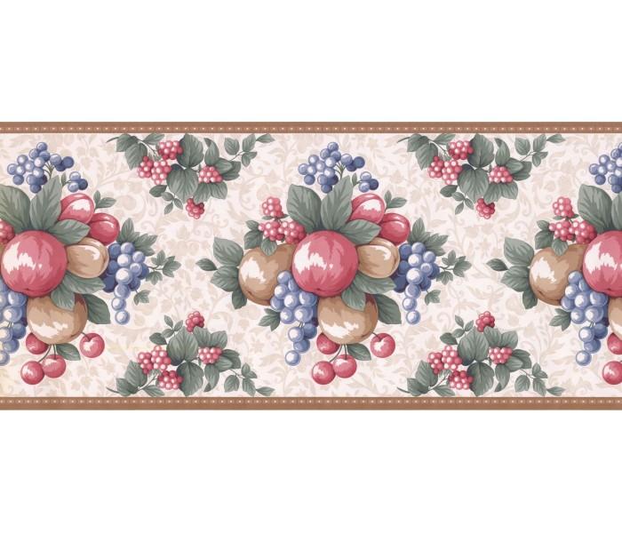New  Arrivals Wall Borders: Fruits Wallpaper Border LF3123B