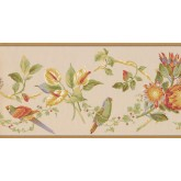 New  Arrivals Wall Borders: Birds Wallpaper Border LH2031B